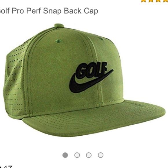 1399dbb88eb Nike Golf Olive Green SnapBack Hat. M 5ada097b739d481070dfd057. Other  Accessories ...